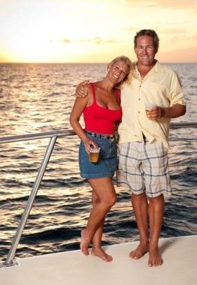 Hawaii Maui sunset ocean sail 234