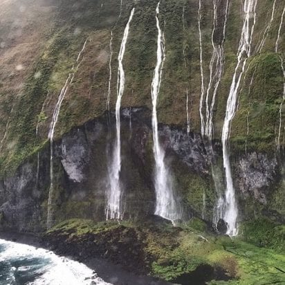 Air Maui Helicopters - Circle Island - 60 Minutes (Waterfall)