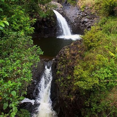Air Maui Helicopters - West Maui and Molokai - 45 or 60 Minutes (Waterfalls)
