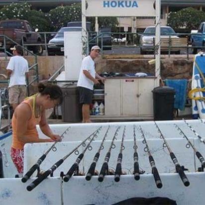 Aloha Blue Charters Hokua Bottom Fishing (Fishing Booth)