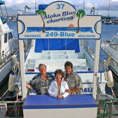 Aloha Blue Charters - Hokua Molokini Snorkel (Booth)