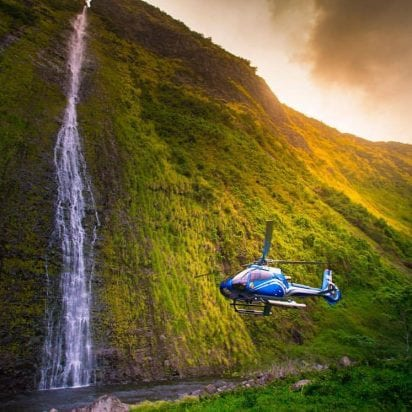 Blue Hawaiian Helicopters - Eco-Star Molokai - 45 Minutes (Waterfalls)
