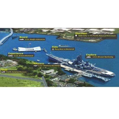 Discover Hawaii Tours - Pearl Harbor Oahu Tours from Maui (Map)
