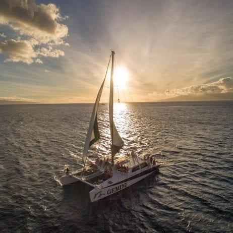 Gemini Charters - Kaanapali Snorkel Sail (Sunset Sail)