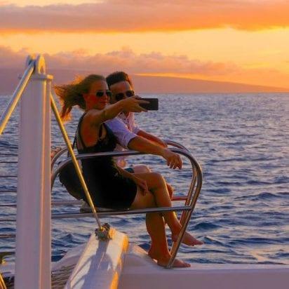 Gemini Charters - Sunset Cocktail Sail (Selfie)
