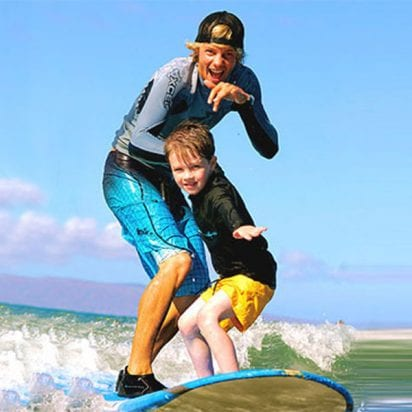 Goofy Foot Surf School - All Surf Lessons (Family Activity)