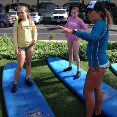 Goofy Foot Surf School - All Surf Lessons (Girls)
