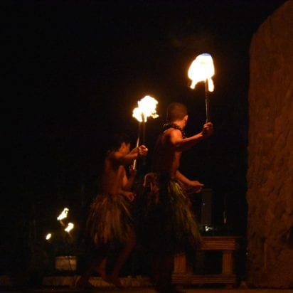 Grand Wailea Luau - Regular Seating (Fire Dancer)