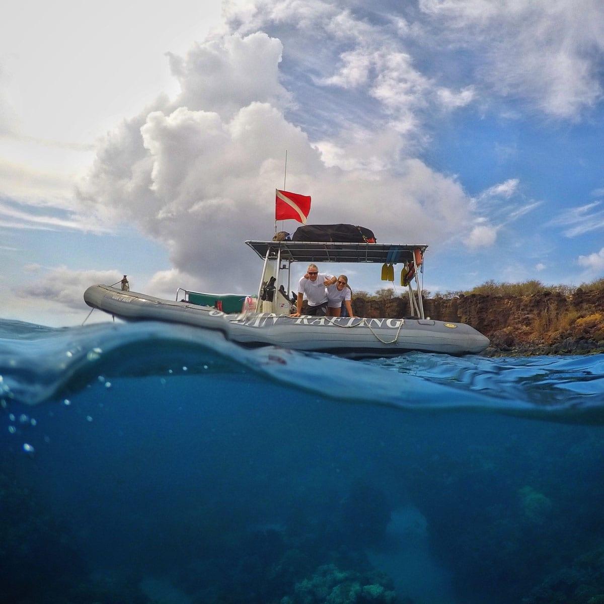 Hawaii Ocean Rafting – Lanai Dolphin Snorkel Tours