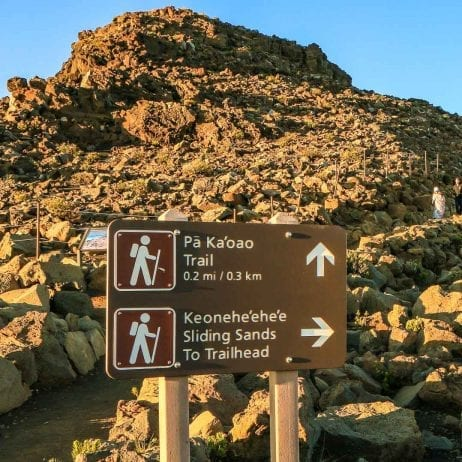 Hike Maui - 4 Mile Haleakala Crater Hike 8 Hours (Guide)