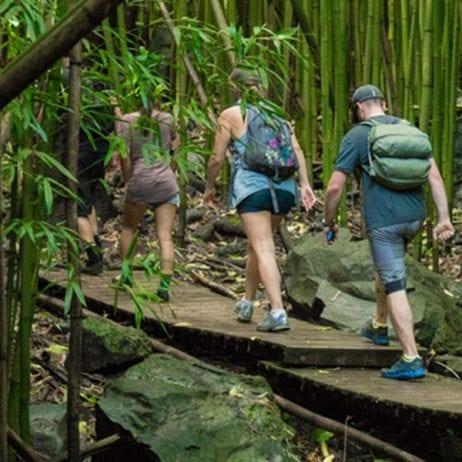 Hike Maui - Kayak and Waterfall Hike 7 Hours (Hana Hike)