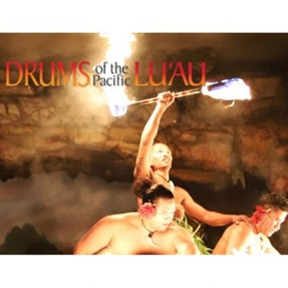 Hyatt Kaanapali Luau - Drums of the Pacific (Fire Dancer)