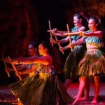 Hyatt Kaanapali Luau - Drums of the Pacific (Hula Girls)