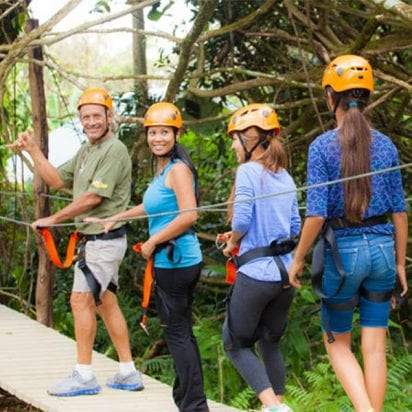 Jungle Zipline Maui (Canopy Tour)