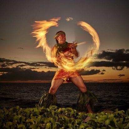 Kaanapali Maui Nui Luau - Premium Seating (Fire Dancer)