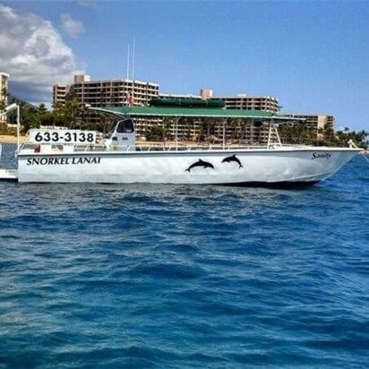 Kaanapali Ocean Adventures - Lanai Snorkel Tours (Boat)