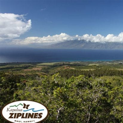 Kapalua Zipline - 5 Line Course (Ranch)