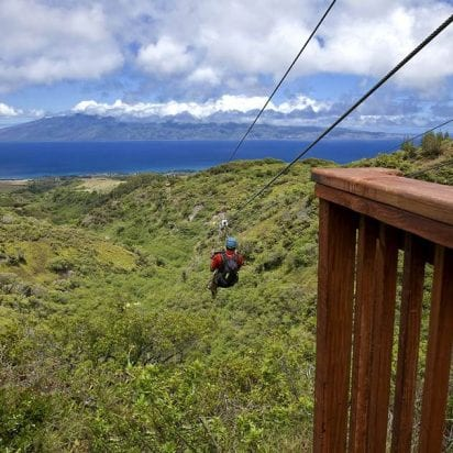 Kapalua Zipline - 5 Line Course (Single Zip)