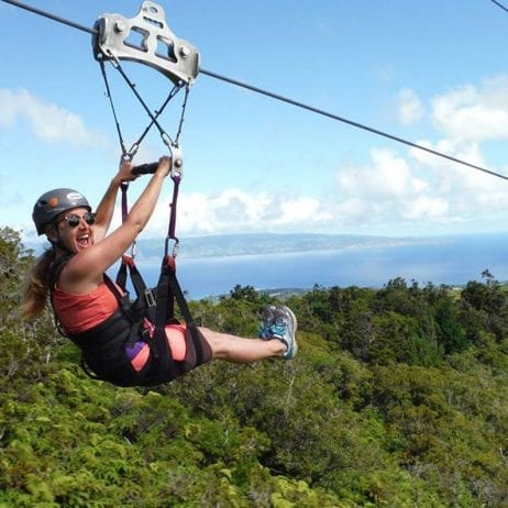 Kapalua Ziplines - 7 Line Course (Adventures in Maui)