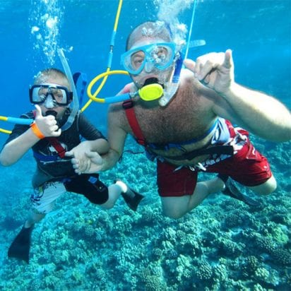Lani Kai - Coral Gardens Snorkel (Family Activity)