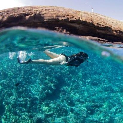 Lani Kai - Coral Gardens Snorkel (Snorkeler)