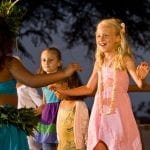 Marriott Te Au Moana Luau - Regular Seating (Kids Activity)