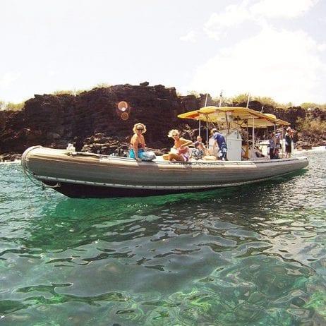 Maui Adventure Cruises - Lanai Snorkel and Landing (Rafting)