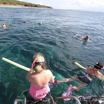 Maui Adventure Cruises - Lanai Snorkel and Landing (Snorkelers)