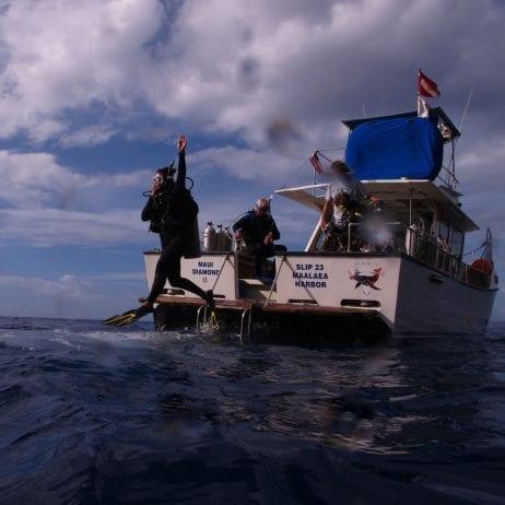 Maui Diamond II - Molokini Crater Two Tank Certified Dive (Dive)