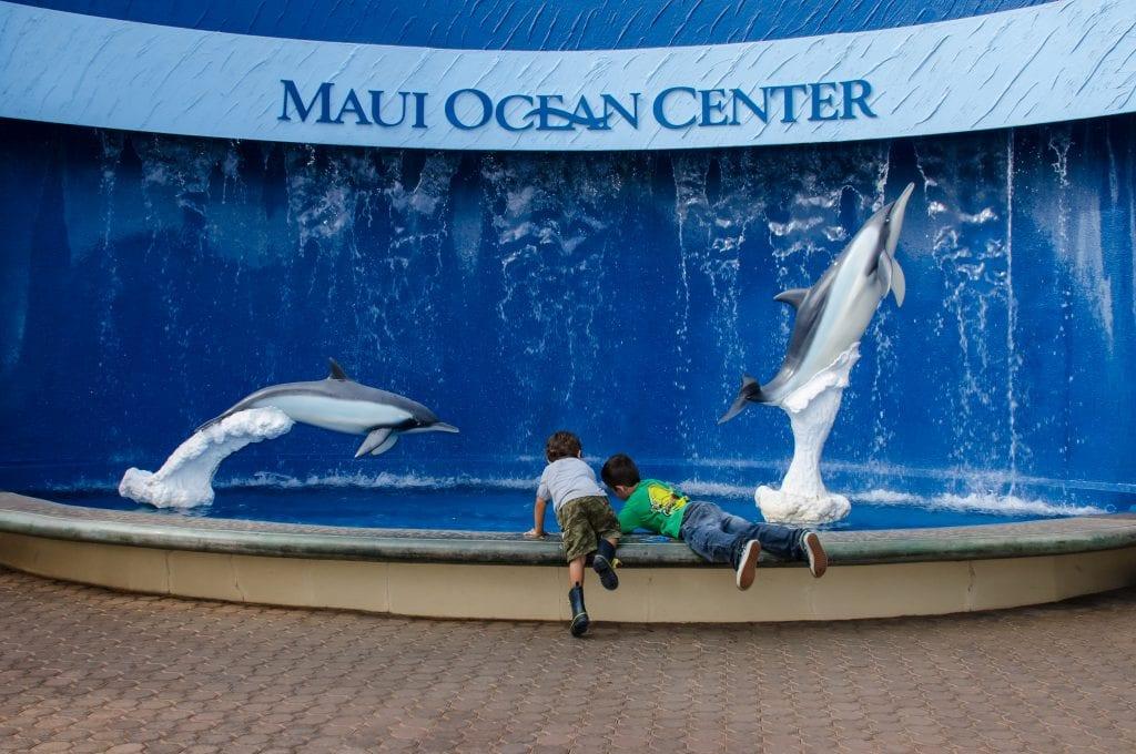 Maui Ocean Center Sign 3073