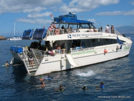 Pacific Whale Foundation boat - 3198