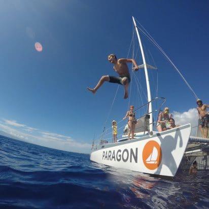 Paragon Sailing - Lanai Snorkeling (Jump)