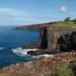 Cliffs in Maui - 2698