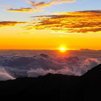 Polynesian Adventure Tours - Haleakala Sunset and Dinner Tour (Sunset At Haleakala)