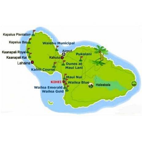 Pukalani Golf Club (The Map)