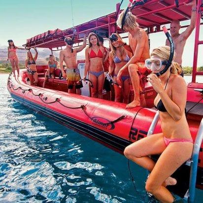 Redline Rafting - Forbidden Coast and Molokini Snorkel (Snorkel Trip)