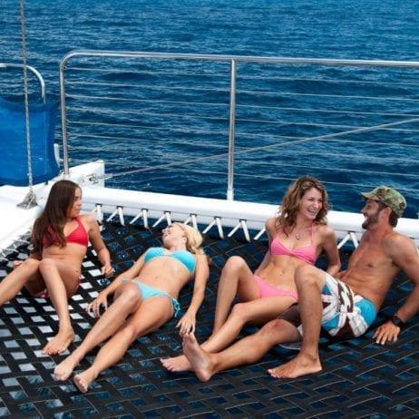 Teralani - West Maui Premier Snorkel Sail (Sun Bathing)