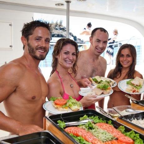 Teralani - West Maui Premier Snorkel Sail (Salads and Sandwiches)