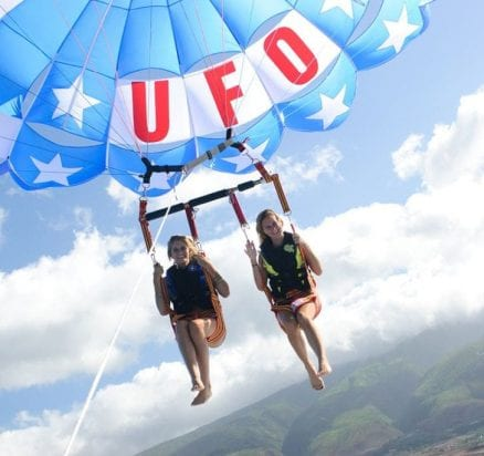 UFO Parasail-800 ft Early Bird Special (Tandem)