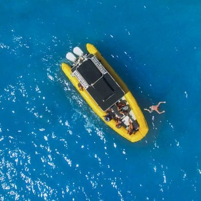 Ultimate Rafting and Snorkel - Lanai Snorkeling (Yellow Raft)