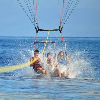 West Maui Parasail (Triple)