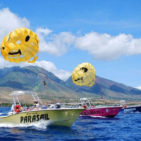West Maui Parasail - Early Bird and Noon 800ft or 1200ft (Boats)