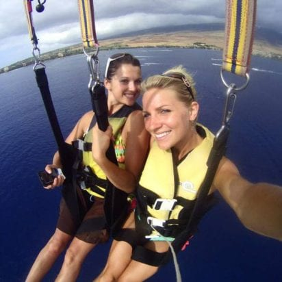 West Maui Parasail - Early Bird and Noon 800ft or 1200ft (Group Selfie)