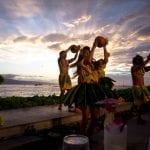 Sunset luau in Maui - 2466