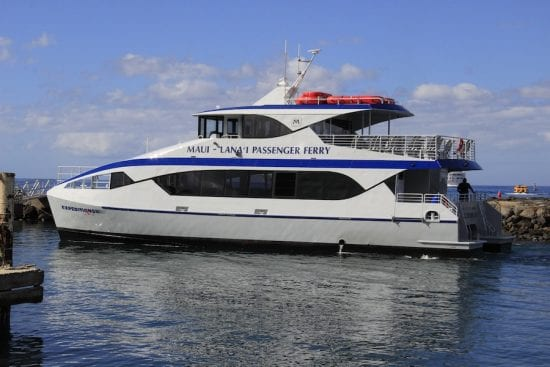 Expeditions ferry service Maui 549