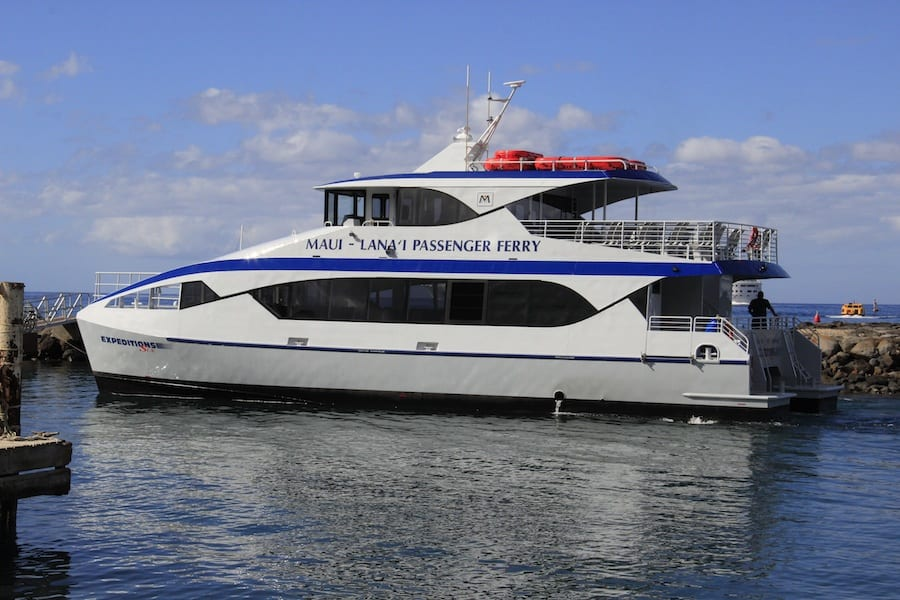 Expeditions Ferry – Lanai Roundtrip Tickets