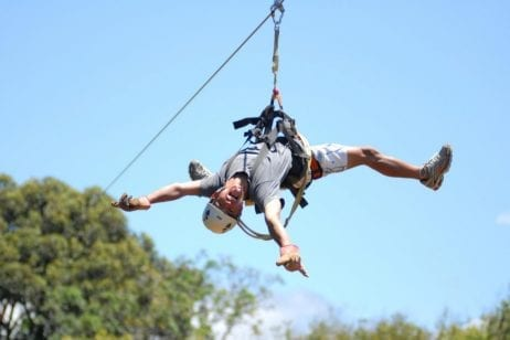Free as a bird Zipline - 2102