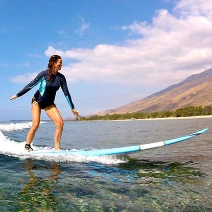 Maui Hawaii long board surfing 350