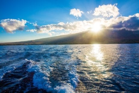 Maui sunset sail in Hawaii 454