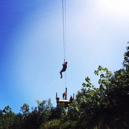 Zipline Tours in Maui - 2758